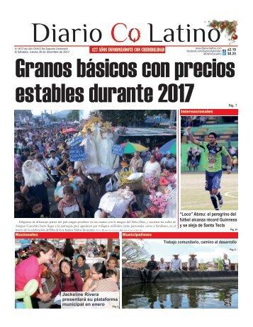 Edición 28 de Diciembre de 2017