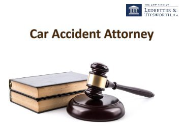 Professional Car Accident Attorney at Raleigh NC