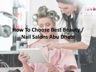 beauty salons abu dhabi