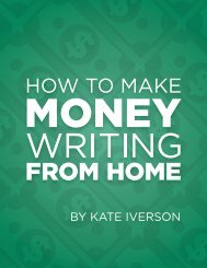 How-to-Make-Money-Writing-From-Home