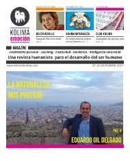 KOLIMA EMOCION Magazine del mes de Diciembre de 2017