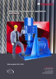 HCN - Industrial Cable Winches