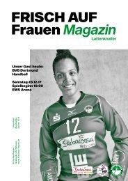 Ausgabe 3 - Saison 2017/2018 - FRISCH AUF Frauen Magazin
