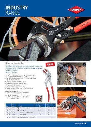 knipex industrial range