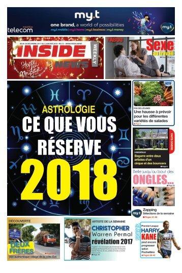 Inside News weekly # No 13 - 28 Décembre 2017 au 03 Janvier 2018