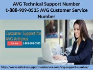 AVG Technical Support 1-888-909-0535 AVG Customer Service Number