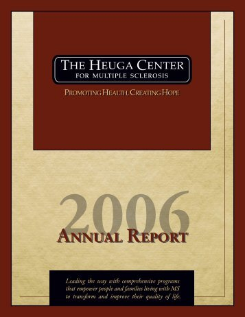 Annual Report - Can Do MS