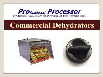 Commercial Dehydrator Online
