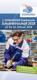 Flyer Projektwoche SchuleWirtschaft 2018