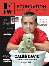 2017 Foundation Fashion Week Magazine