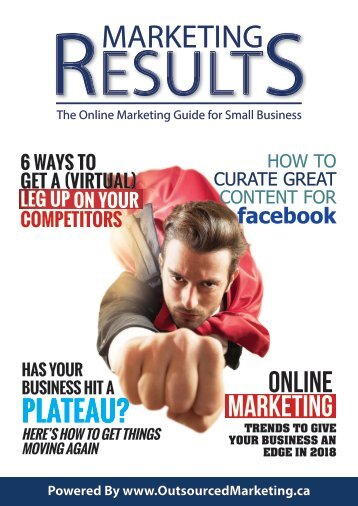 Marketing Results Magazine - January 2017