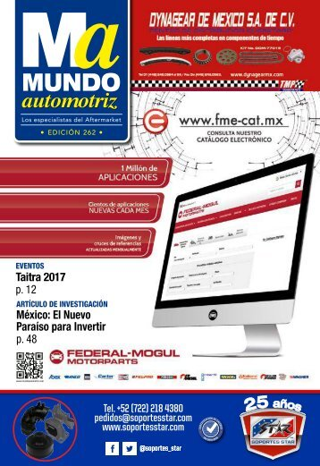 Mundo Automotriz 262 Enero 2018