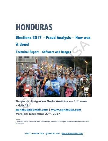 Final Report - 2 - HONDURAS Elections 2017