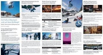 Bergbahn Oberlech_Rodeln_Winterwandern_Bergrestaurants