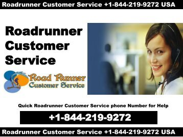+1-844-219-9272 ROADRUNNER SUPPORT PHONE NUMBER USA