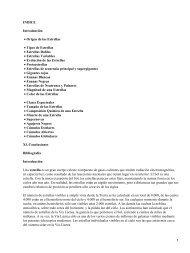 INDICE Introducción Origen de las Estrellas • Tipos de Estrellas ...