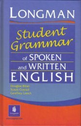 Longman Student Grammar of Spoken and Written English_0582237262