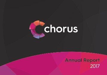 CHORUS Annual Report 2017 Final 2