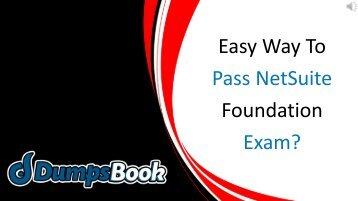 NetSuite SuiteFoundation Exam Dumps