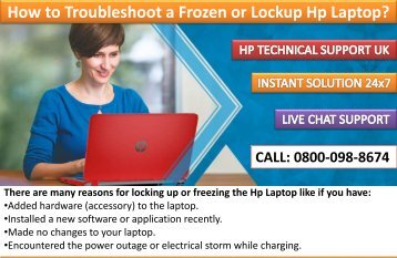 How to Troubleshoot a Frozen or Lockup Hp Laptop