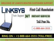 Need instant help for Linksys router call the 1-888-664-3555 Linksys router customer support number?