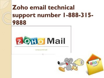 zoho email technical support number 1-888-315-9888 | Customer support