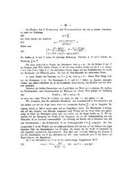 Den Radius der 2. Krümmung oder Torsionsradius, den wir e ...