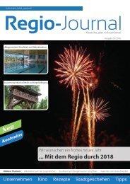 Regio-Journal 01/2018