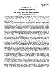 Die Plünderung von André Bretons Nachlaß oder Der Geist in Zeiten ...