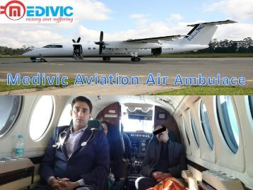 Get More Reliable Air Ambulance Service in Bhopal with Medical Team