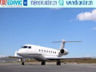 Medical Care Charter Air Ambulance Service in Ranchi-Medivic Aviation