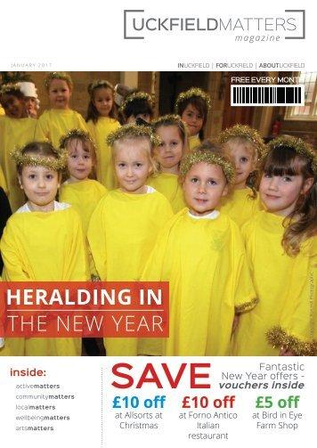 Uckfield Matters Issue 113 January 2017