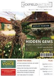 Uckfield Matters Issue 121 September 2017