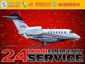 High-Quality Medical Air Ambulance Service in Delhi and Patna by Falcon Emergency