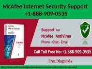 McAfee Internet Security Support 1-888-909-0535 Install & Setup