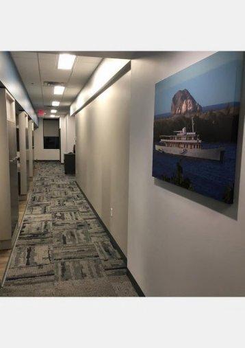 Hallway at Invisalign specialist Sorenson Dental Hugo, MN 55038