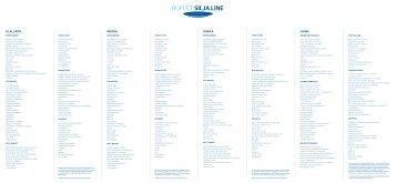 Buffet Silja Line, dinner menu, Galaxy
