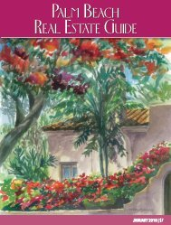 January 2018 Palm Beach Real Estate Guide