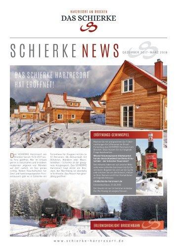 Schierke News Eröffnungsausgabe
