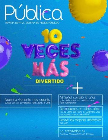 Revista RTVC Novena Edición
