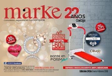 Catalogo Marke 243n Enero-Febrero 2018