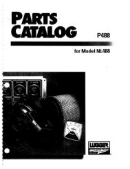 Page 1 Page 2 Page 3 PARTS ~ CATALOG for Model NL488 Please ...