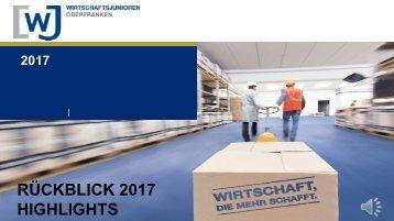 WJ Oberfranken: Rückblick 2017