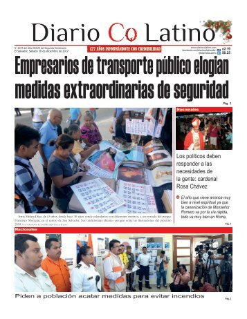 Edición 30 de diciembre de 2017
