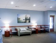 waiting area at Spokane cosmetic dentistry office of Max H. Molgard Jr, DDS, FACP