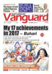30122017 - My 17 achievements in 2017 - Buhari