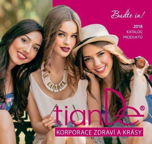 nový katalog tiande 2018