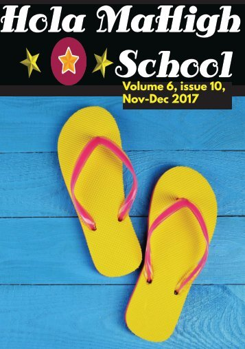 Hola MaHigh-School - November-December 2017