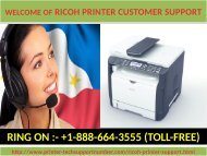 Contact us 1-888-664-3555 through our Ricoh Printer Technical Support toll free Number