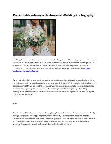 4 Wedding Photography Sydney